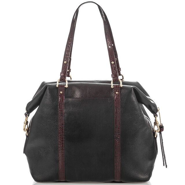 Delaney Tote Black Tuscan Coast, Black, hi-res