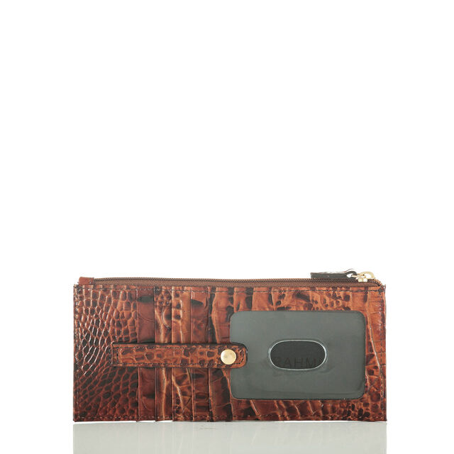 Credit Card Wallet Pecan Melbourne, Pecan, hi-res