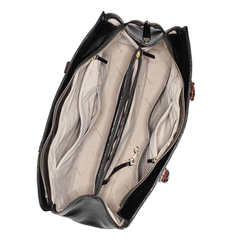 Finley Carryall Black Tuscan Tri-Texture