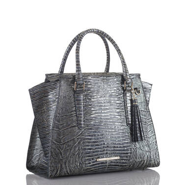 Priscilla Satchel Midnight Salvador Side