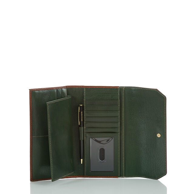 Soft Checkbook Wallet Hunter Westport, Hunter, hi-res