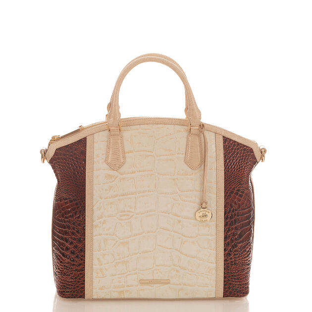 Large Duxbury Satchel Light Gold Brinkley, Light Gold, hi-res