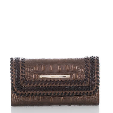 Soft Checkbook Wallet Patina Palermo Front