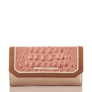 Soft Checkbook Wallet Sandshell Varadero Front