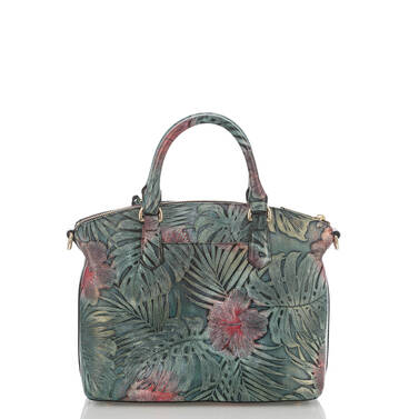Duxbury Satchel Green Solandra Back