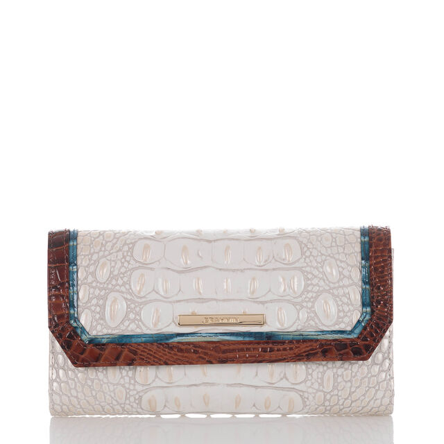 Soft Checkbook Wallet Pearl Presley, Pearl, hi-res