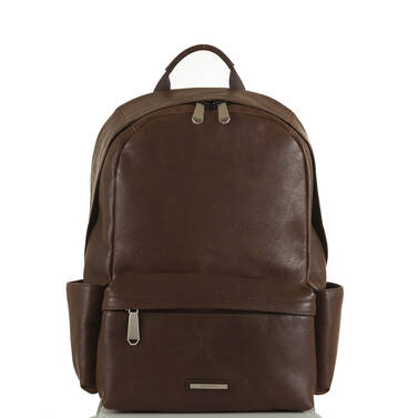 Marcus Backpack Cocoa Brown Manchester Front