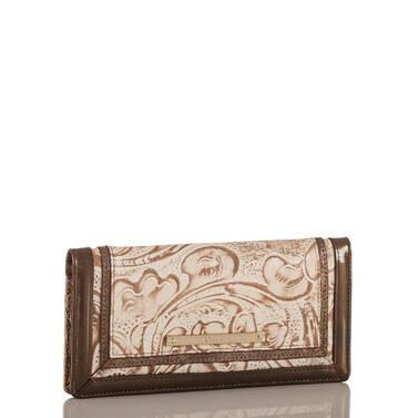 Ady Wallet Rose Gold Bourdelle Side