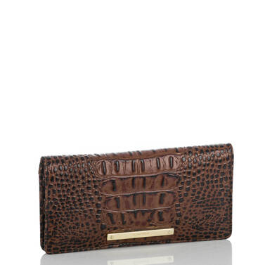 Ady Wallet Black Tuscan Tri-Texture Side