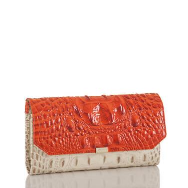 Soft Checkbook Wallet Vanilla Toucan Side