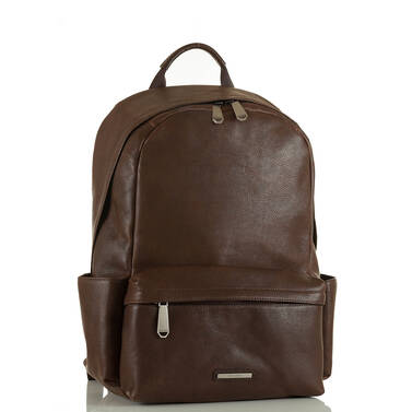 Marcus Backpack Cocoa Brown Manchester Side