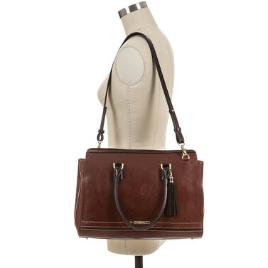 Finley Carryall Cognac Carling On Mannequin