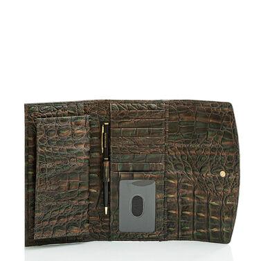 Modern Checkbook Wallet Moss Rowan Front