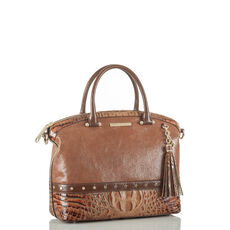 Duxbury Satchel Brown Silva Front