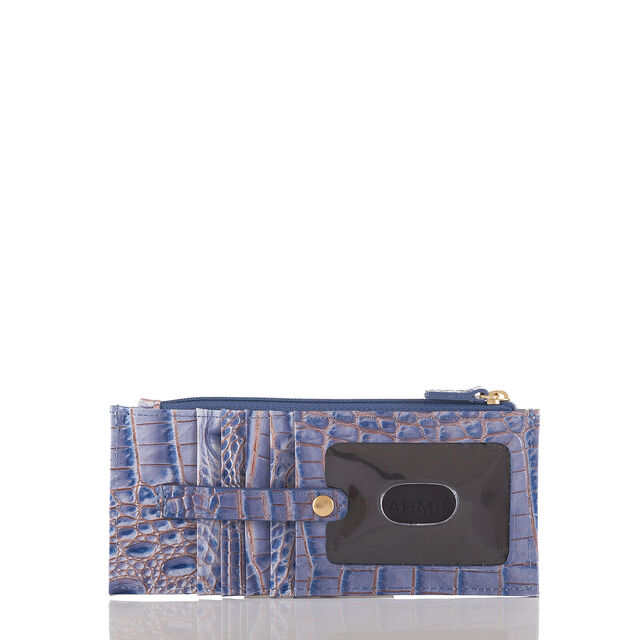 Credit Card Wallet Washed Indigo Melbourne, Washed Indigo, hi-res