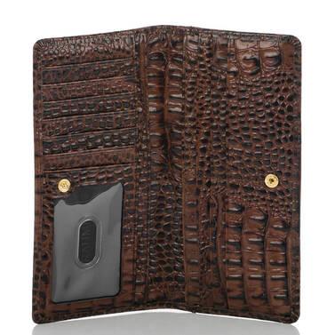 Ady Wallet Black Tuscan Tri-Texture Interior