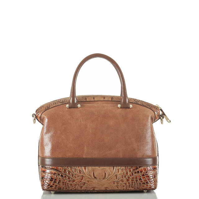 Duxbury Satchel Brown Silva, Brown, hi-res
