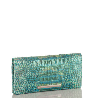 Ady Wallet Turquoise Sandestin Side