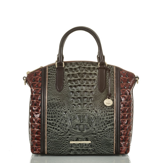 Large Duxbury Satchel Serpentine Heartwood, Serpentine, hi-res