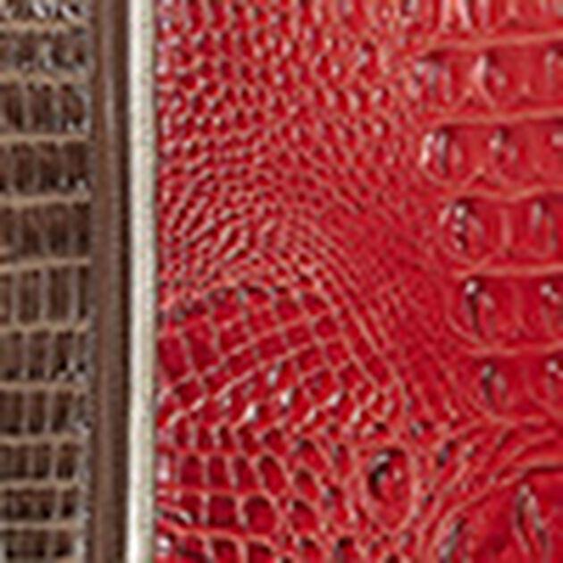 Modern Checkbook Wallet Lava Chenoa