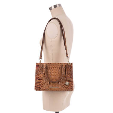 Small Camille Toasted Almond Melbourne On Mannequin
