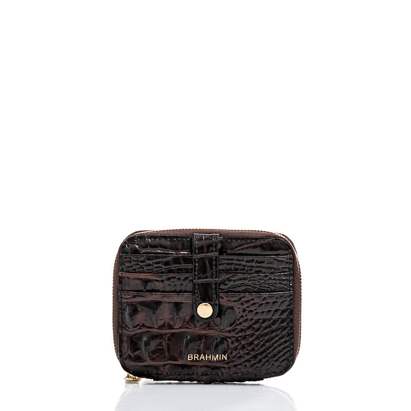 Travel Wallet Zip Around Cocoa Melbourne