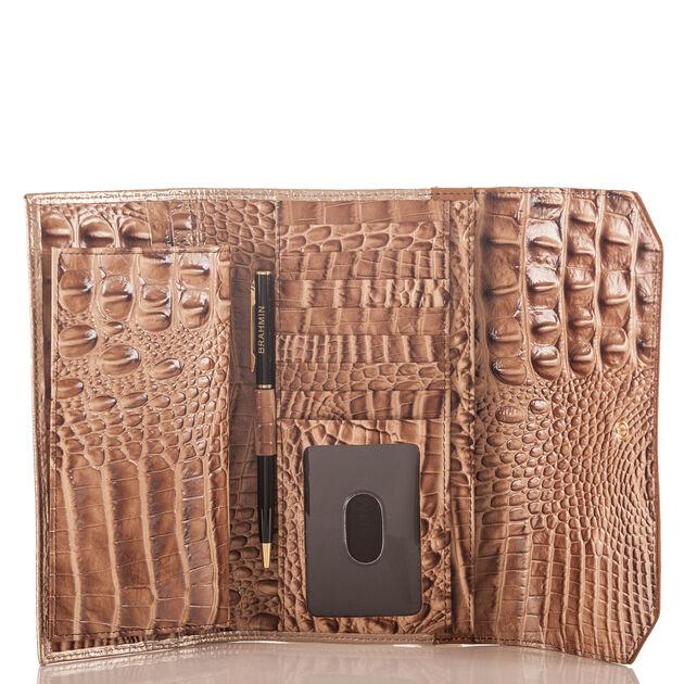 Soft Checkbook Wallet Sandshell Varadero