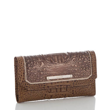 Soft Checkbook Wallet Patina Masolino Side