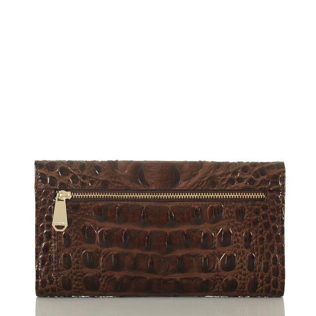 Soft Checkbook Wallet Chestnut Melbourne, Chestnut, hi-res