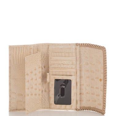 Soft Checkbook Wallet Sunglow Dalton Interior