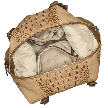Delaney Tote Gold Wilmington Interior