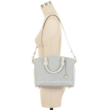 Duxbury Satchel Mineral Moulay On Mannequin