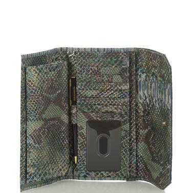 Soft Checkbook Wallet Moonstone Seville Interior