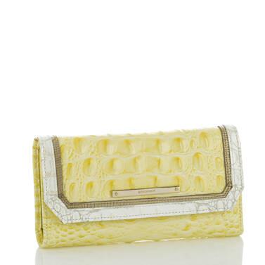 Soft Checkbook Wallet Dandelion Fairchild Side