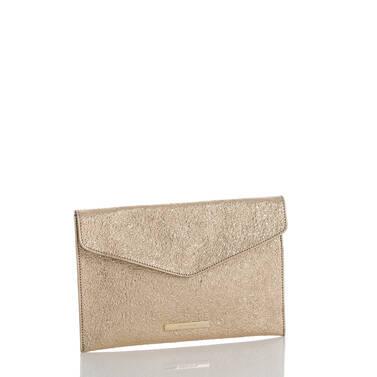 Envelope Clutch Gold Grady Side