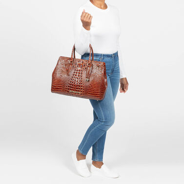Finley Carryall Mocha Ombre Melbourne Front