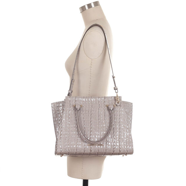 Priscilla Satchel Warm Gray La Scala, Warm Gray, hi-res