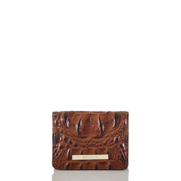 Mini Key Wallet Pecan Melbourne, Pecan, hi-res