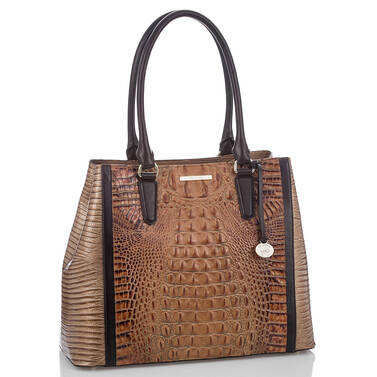 Joan Tote Toasted Almond Bengal Side