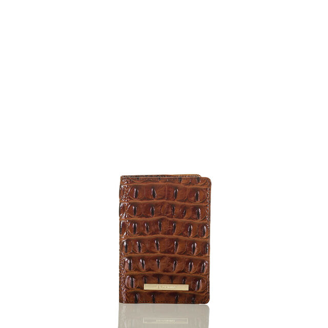 Passport Wallet Pecan Melbourne, Pecan, hi-res