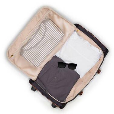 CarryOn Wheeled Duffle Black Travel On Mannequin