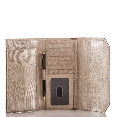 Soft Checkbook Wallet Ray Artemisa Interior