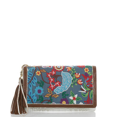 Lily Pouch Blue Temara Front