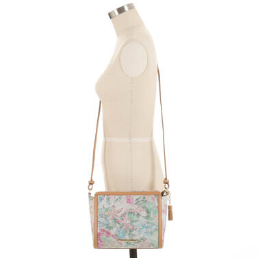 Carrie Crossbody Creme Talitha On Mannequin