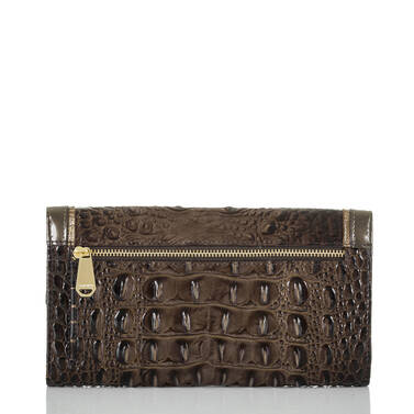 Soft Checkbook Wallet Brunello Vestige Back