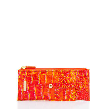 Credit Card Wallet Spicy Orange Melbourne Front