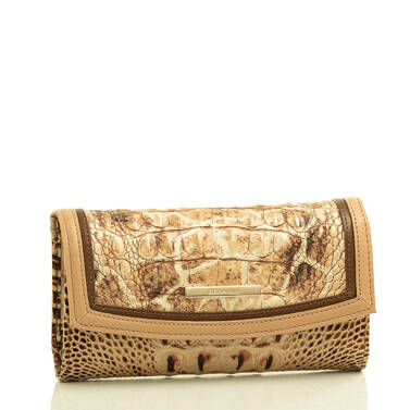 Modern Checkbook Wallet Toasted Kempsey Side