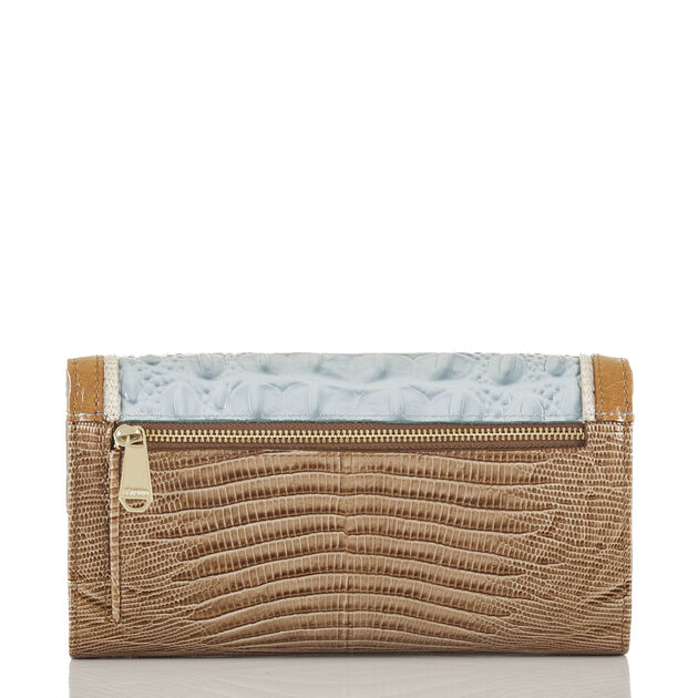 Soft Checkbook Wallet Sky Viognier