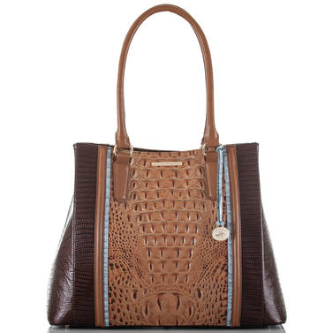 Joan Tote Toasted Almond Garrone Front