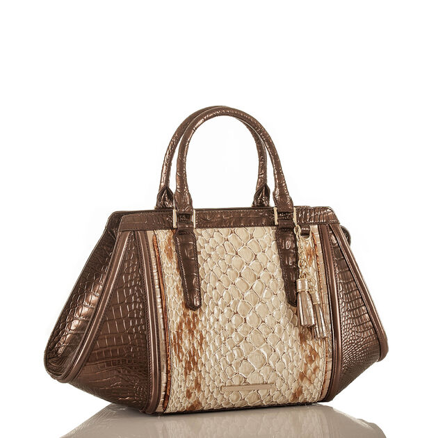Arden Satchel Honey Carlisle